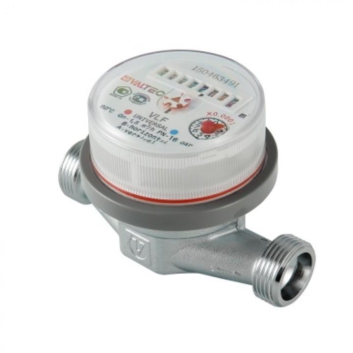 Счетчик воды универсальный VLF-15U-L.110 без сгонов VALTEC
