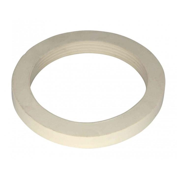 Прокладка смывного бачка круглая белая 112х85х13мм имп.