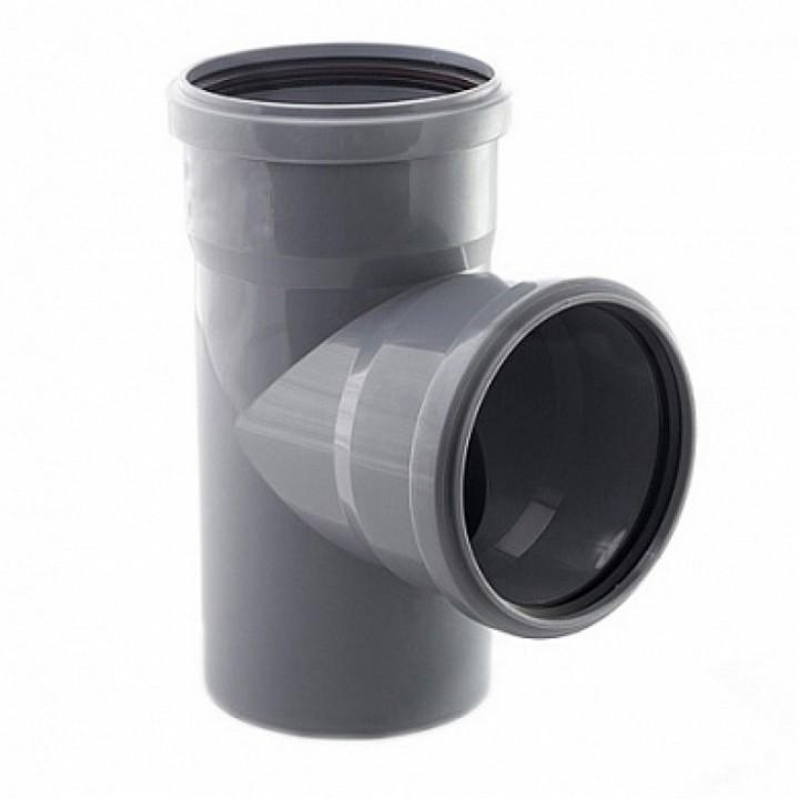 Тройник канализационный 110 х 110 х 90°
