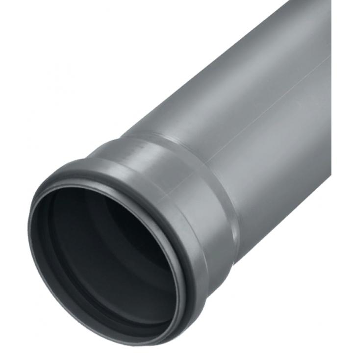 Труба канализационная 110мм х 1,5м